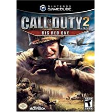 GC: CALL OF DUTY 2: BIG RED ONE (COMPLETE)